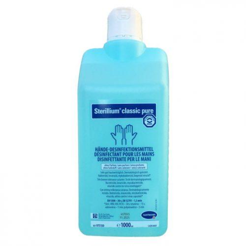 Sterillium Classic Pure kézfertőtlenítőszer 1000 ml-es