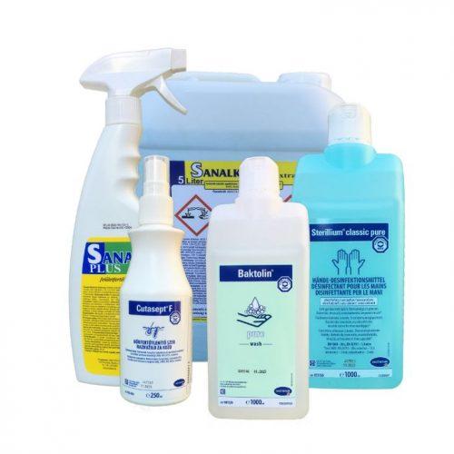 Medinfect fertőtlenítőszer csomag a megfelelő higiénéhez