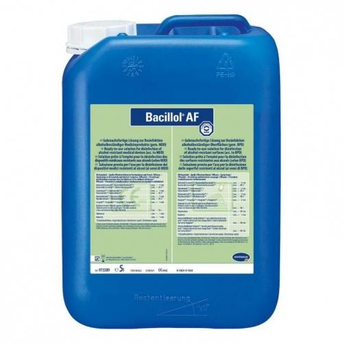 Bacillol AF 5l gyors felületfertőtlenítő