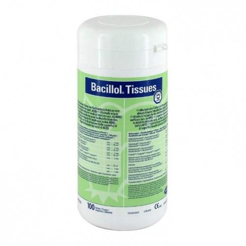 Bacillol Tissues felületfertőtlenítő kendő dobozos 100db-os